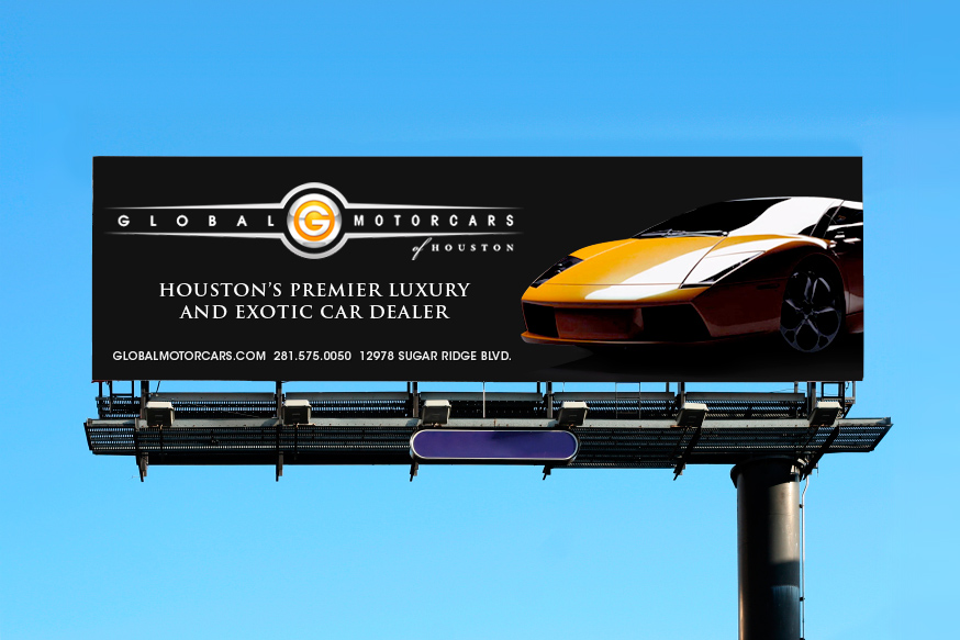 Global Motorcars of Houston is a high-end, luxury and exotic car dealership in Houston, TX. The identity needed to represent the encompassing and ...